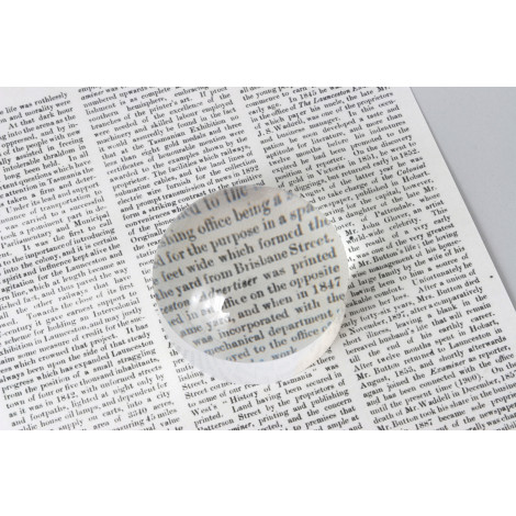 """Dome Magnifier 3"""" Inch, 4x,  Medium Size"""