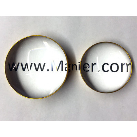 """3""""Inch,Glass Dome Magnifier 3x Medium Size"""