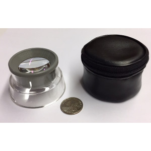 AS-6 6x Aspheric Stand Magnifier, Storage Case