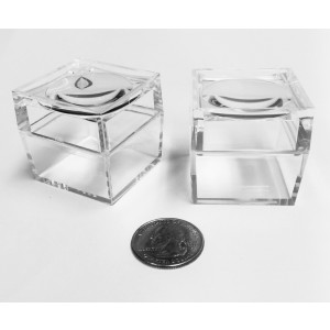 "3x Magnifying Bug Box Magnifier Specimen Box ,1.5"" Inch"