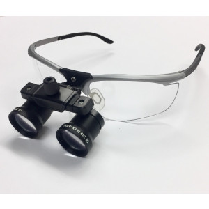 DLZ-10 2.5x-3x,Dental Loupes, Variable Magnification, 480mm-360mm, Working Distance