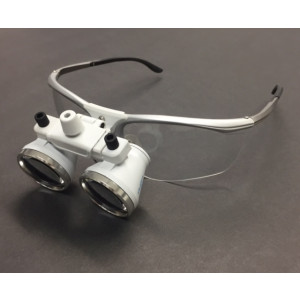 2.5x Binocular Magnifier Medical Dental Loupes 420mm Working Distance