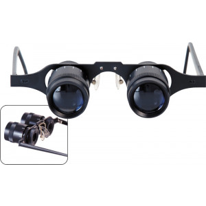 2.5x Distance Viewing Magnifying Loupes, Eyeglass Style Loupes