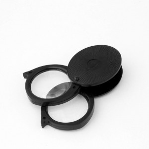 Large lens Folding Pocket Double Lens Magnifier, 3x, 6x MADE IN USA