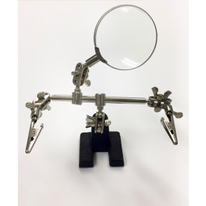 SLD-M 3.5x Helping Hand  Soldering Magnifier
