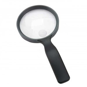 """4.3 """" Inch, 2x,3.5x Extra Large Handheld Magnifier by Carson"""
