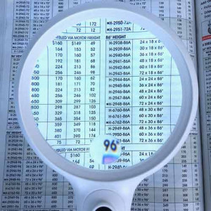 """Large Handheld Magnifier, 2.5x, 4"""" Inch Magnifying Glass ,14 LED Dual Light Settings"""