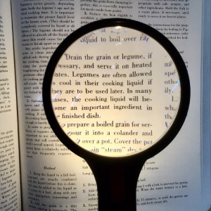 """Large Lighted Magnifier, LED, 4"""" Double Lens 4x ,Ideal for Reading, Made in USA"""