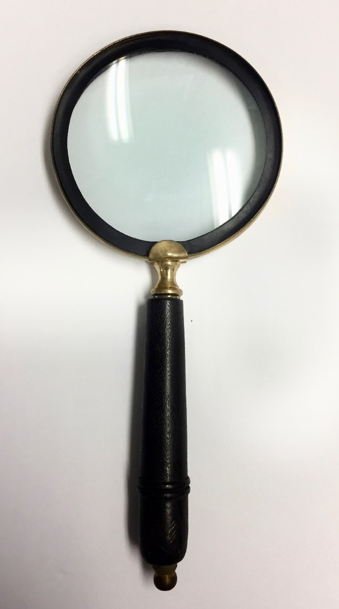 3 5 classic magnifier with glass lens for Glass 2 glass